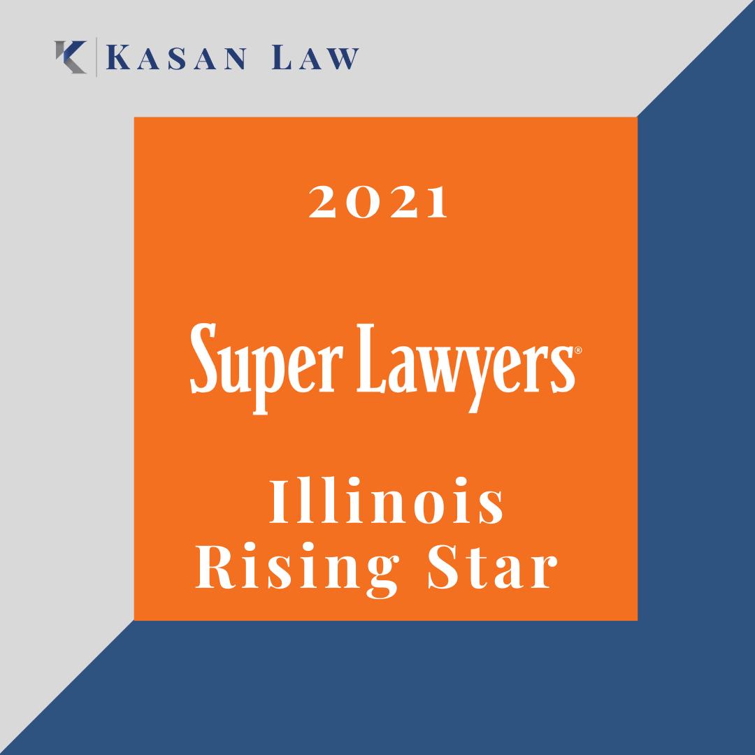 Kasan Law 2021 Rising Star Award